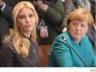 Пронизващият поглед на Меркел към Иванка Тръмп
