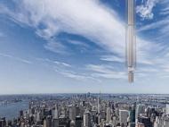 Проектираха първия висящ небостъргач