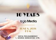 b2b Media празнува 10-ата си годишнина
