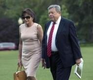 Родителите на Мелания Тръмп се заклеха като американски граждани на официална церемония в Ню Йорк