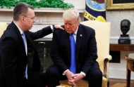 Тръмп прие в Овалния кабинет пастор Андрю Брансън